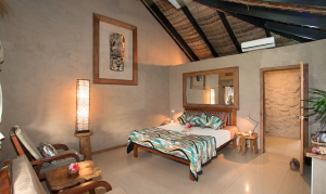 All rooms at Paradise Taveuni give off beach vibes, look awesome and are comfortable